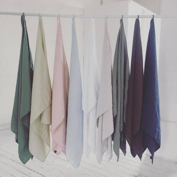 vask af håndklæder